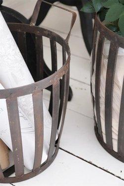 Korg i metall 50 cm